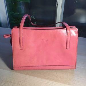 MONSAC original vintage pink purse